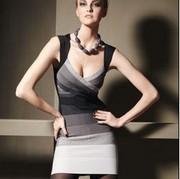 Herver Leger платье,  высокое качество,  лучшие цены